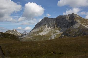 Die herbstlichen Alpen