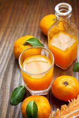 Fruit juice with orange