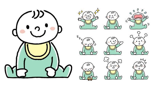 赤ちゃん:セット バリエーション
