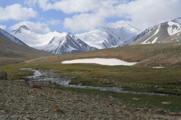 Pamir region Russian Federation Central Asia mountain landscapes