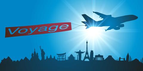 Voyage - Avion - Tourisme