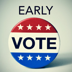 early vote in the United States election