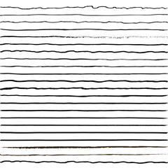 set of horizontal lines drawn with a trembling hand, curves tremolo brush