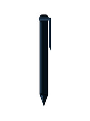 Pen icon. Write tool office object and instrument theme. Colorful and isolated design. Vector illustration