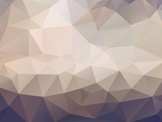 brown geometric mosaic background