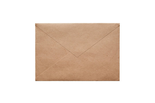 Brown craft envelope