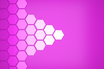 3D octagon template layout for business
