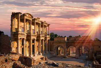 Celsus Library in Ephesus, Turkey