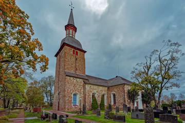 St. Olaf's Church, Jomala, Aland Islands, Finland