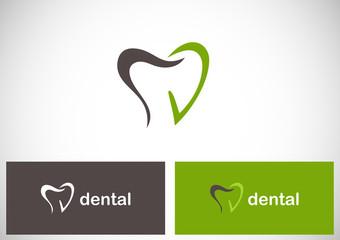 tooth dental logo