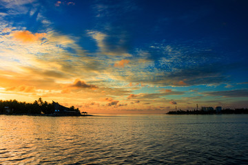 prima dell'alba, Maldives