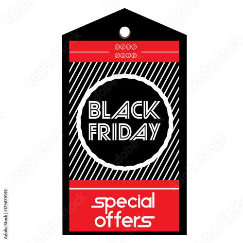black friday label stockfotos und lizenzfreie vektoren auf bild 125635144. Black Bedroom Furniture Sets. Home Design Ideas