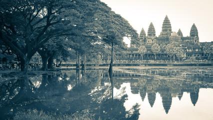 Temple d'Angkor Vat (Cambodge)