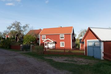 Dorf Bullerbü- Bullerbyn Schweden