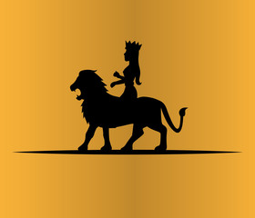 Lion and Queen