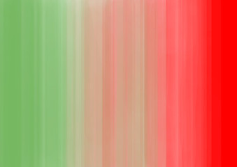 Green and red stripes smooth color transition
