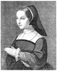 St. Jane Frances Fremyot, Chantal Baroness at the age of twenty,
