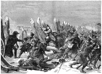 End of the Russian campaign. Recent efforts of Marshal Ney, vint