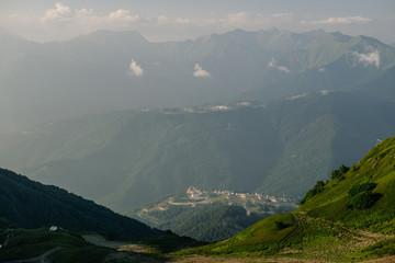 Caucasus Mountains in Rosa Khutor