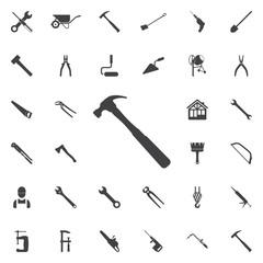 Hammer icon.