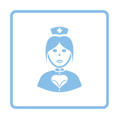 Nurse costume icon