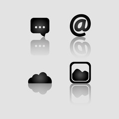 Social media networking icon vector illustration graphic design