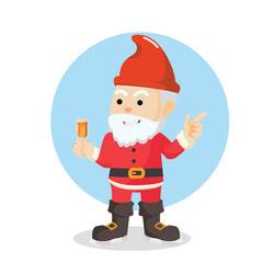 gnome christmas illustration design