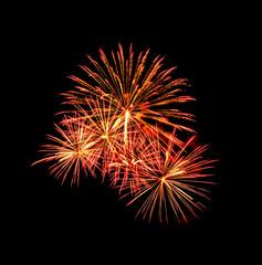 A large Fireworks Display event  - Vibrant color effect