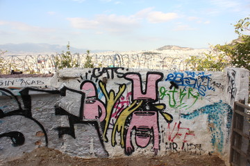 Athener Stadtansicht