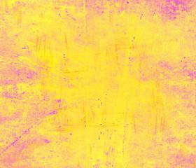 Fototapeta Yellow grunge wall for texture background