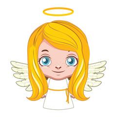 Cute angel ( ver. 2 ) illustration art