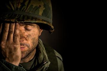 American Soldier - Vietnam War - PTSD