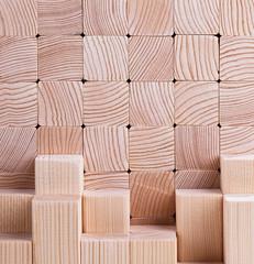 natural wood beam