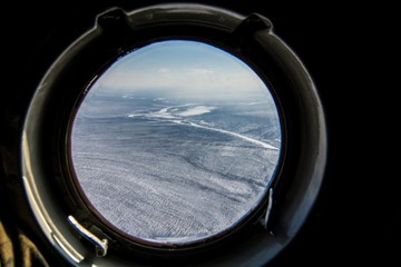 Arial view of yakutia, Russia