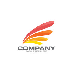 wings company logo icon
