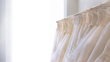 ウェディングドレスの部屋