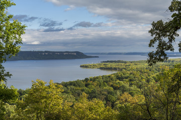 Lake Pepin & Mississippi River Scenic View