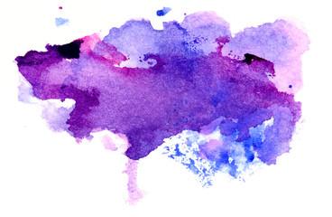 Multicolored splash