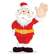 Cute Santa Claus icons, Cartoon character