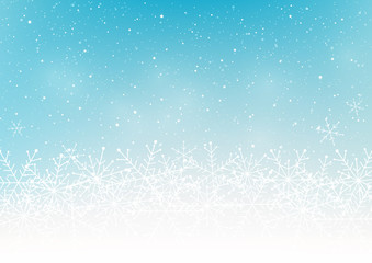 Snowflakes background for Your design
