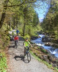 Raus in die Natur zum Radfahren