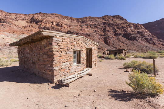 Glen Canyon National Park Historic Lees Ferry Ruins