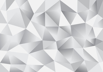 Abstract triangle polygon background