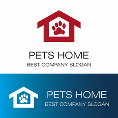 pets home vector logo