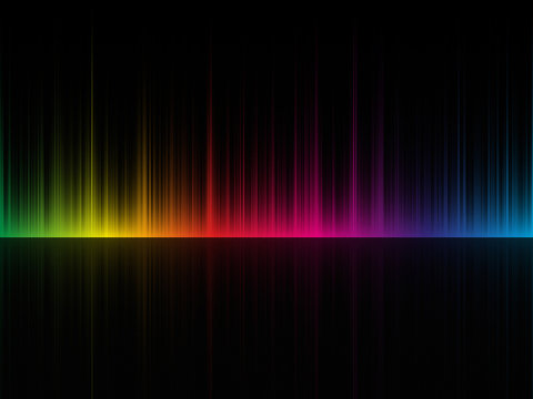 dark color spectrum background