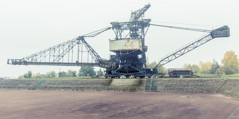 Absetzer Kohletagebau