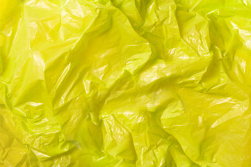 yellow trash bag plastic texture