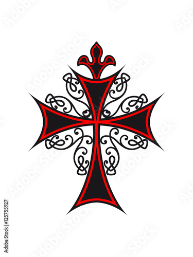 Quot Gothic Symbol Cross Quot Stock Photo And Royalty Free Images