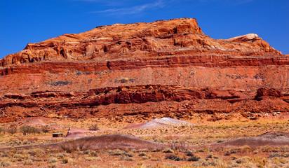 Red Mesa Rock Canyon Arizona