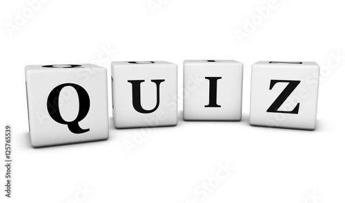 Quiz Word Cubes
